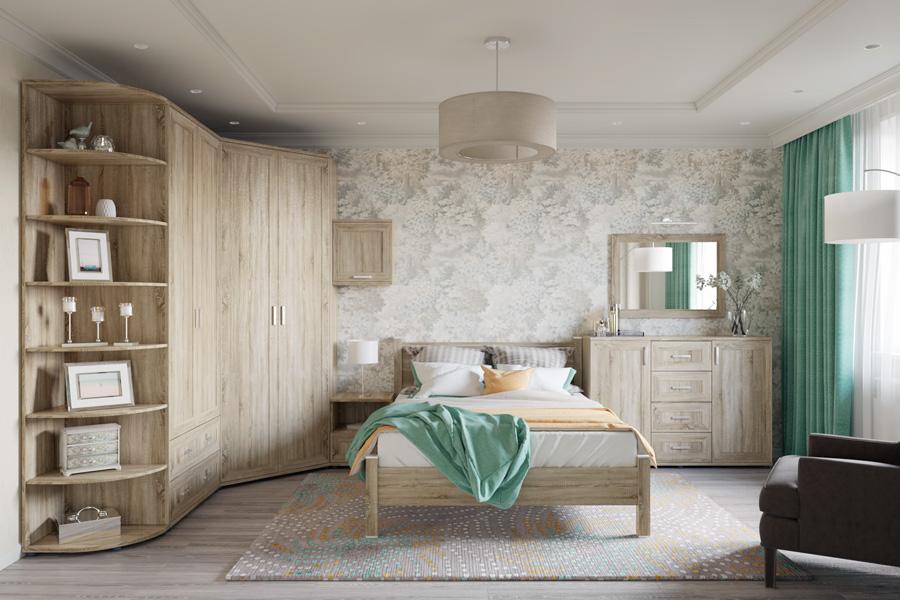 вариант комплектации спальни гарун к 6 купить в спб от