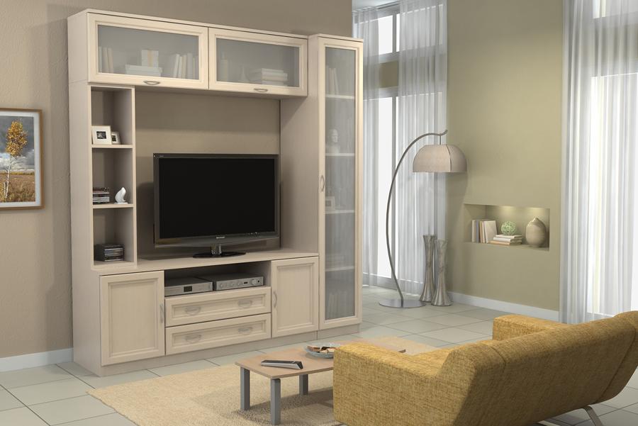интерьер гостиной вариант 12 купить набор мебели в гостиную от