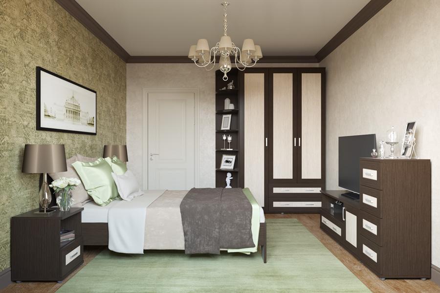 вариант комплектации спальни гарун к 4 купить в спб от